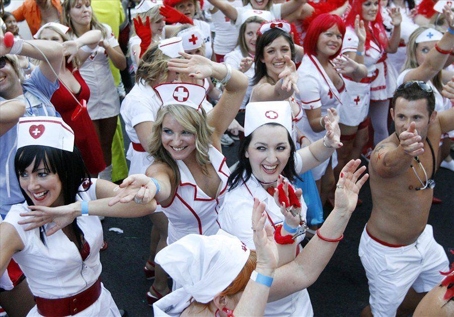 В тридцать первый раз в Сиднее состоялся большой гей-парад (31th