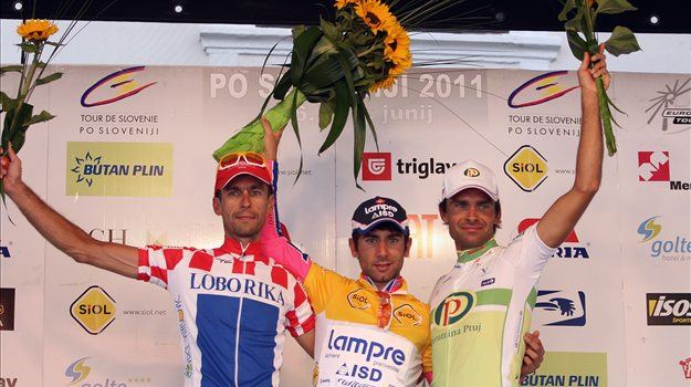 Italy's Andrea Guardini is the winner of the last stage of the 18th Tour de Slovénie, the yellow jersey for leadership in the overall general classification went to his compatriot Diego Ulissi.