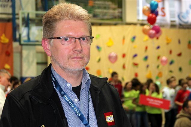 Gerhard Bjerrum-Andersen, projektni meneder LEGO education z Danske
