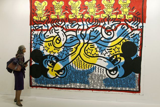 2. Keith Haring