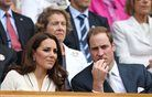William in Kate obiskala tenisače v Wimbledonu
