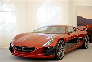 Hrvaki elektrini superportnik Rimac - povsem od blizu