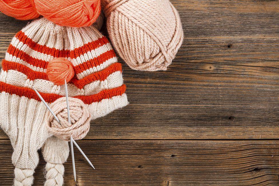 Фото вязания клубков